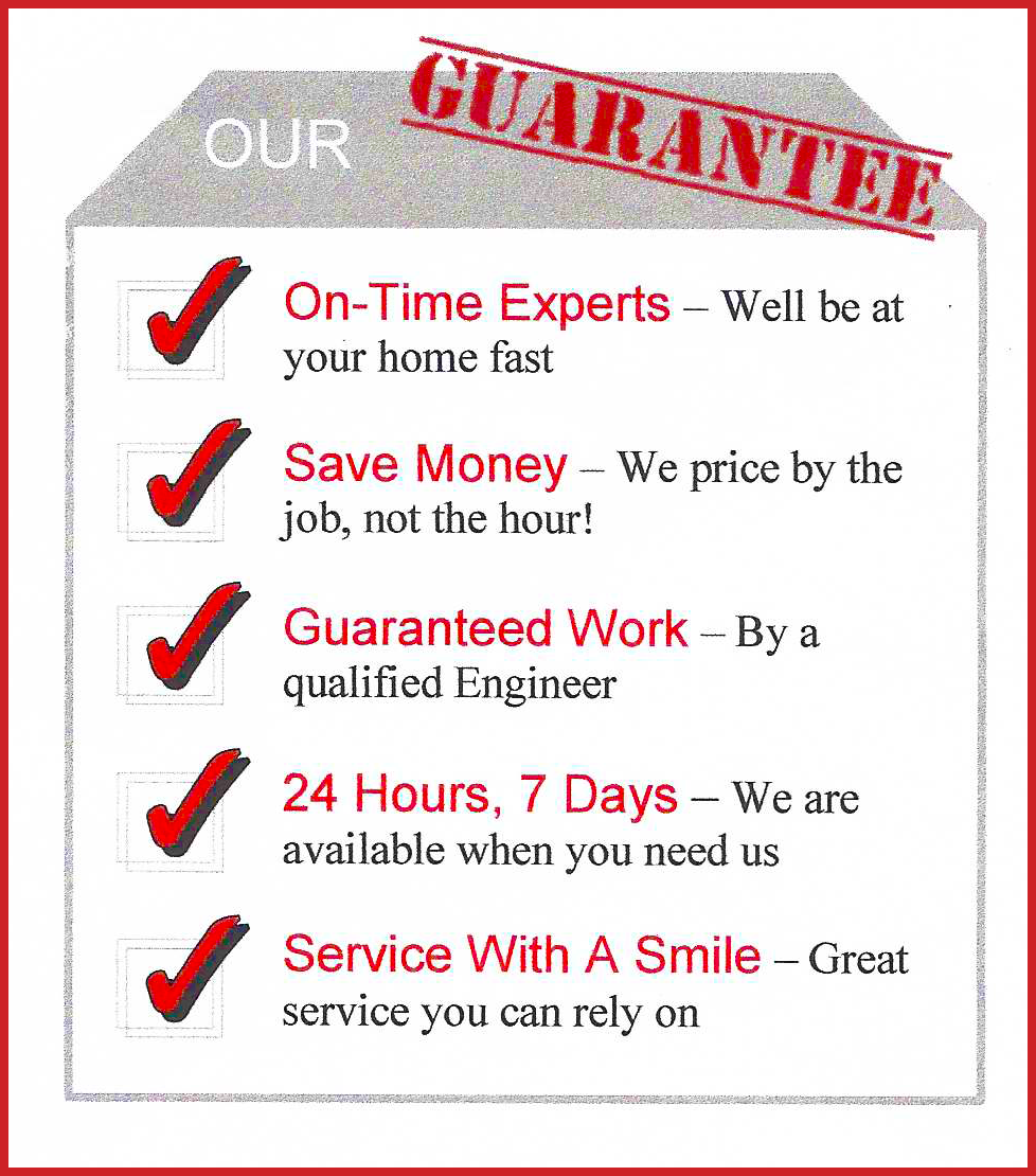 Central heating repairs Cambridge: our Guarantee